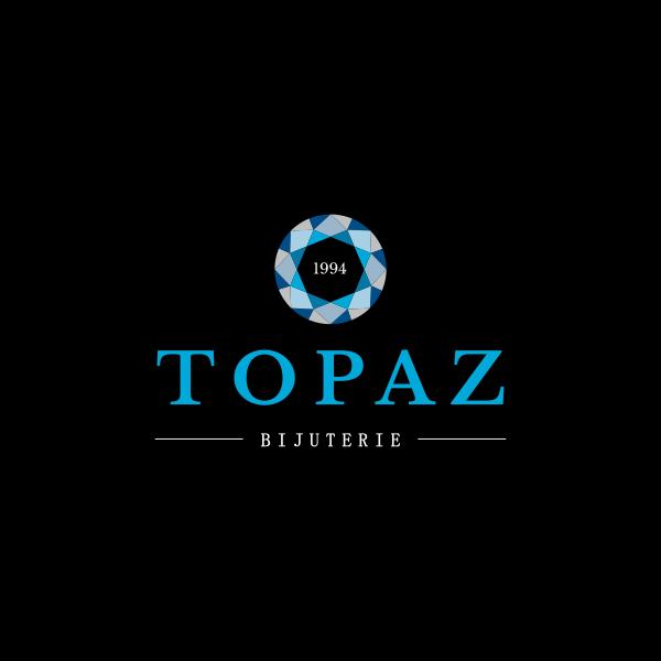 Design Logo Bijuteria Topaz