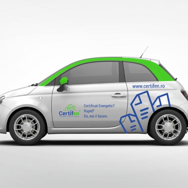 Car branding Certifen
