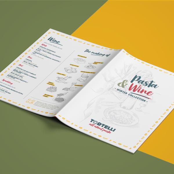 Design Meniu Tortelli